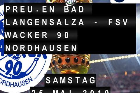 Preußen Bad Langensalza - FSV Wacker 90 Nordhausen