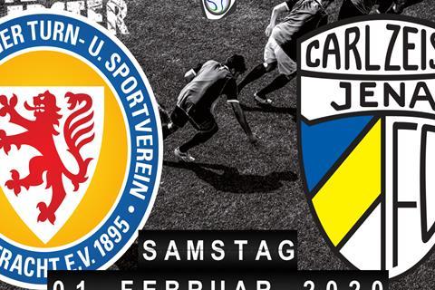 Eintracht Braunschweig - Carl Zeiss Jena