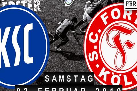 Karlsruher SC - Fortuna Köln