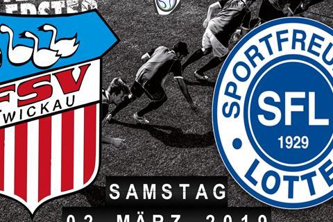 FSV Zwickau - Sportfreunde Lotte