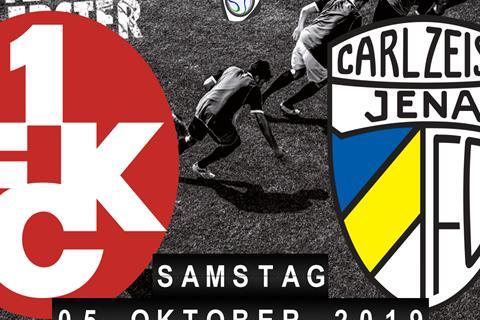 1.FC Kaiserslautern - Carl Zeiss Jena
