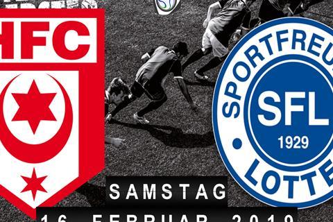 Hallescher FC - Sportfreunde Lotte