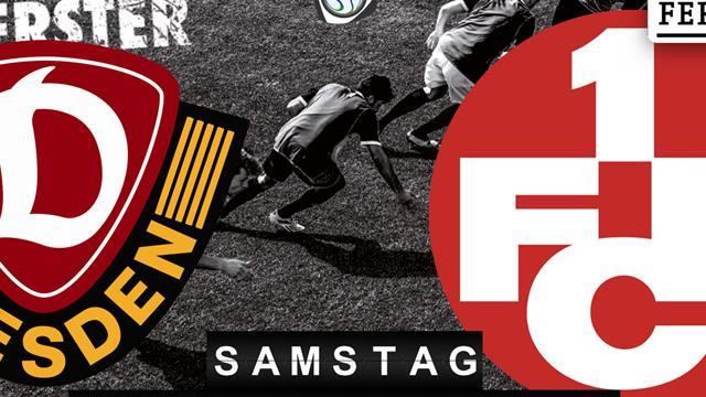 Dynamo Dresden - 1.FC Kaiserslautern