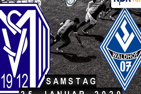 SV Meppen - SV Waldhof Mannheim