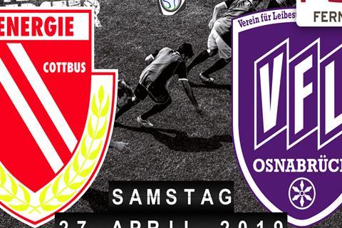 Energie Cottbus - VfL Osnabrück