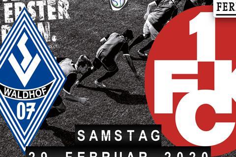 SV Waldhof Mannheim - 1.FC Kaiserslautern
