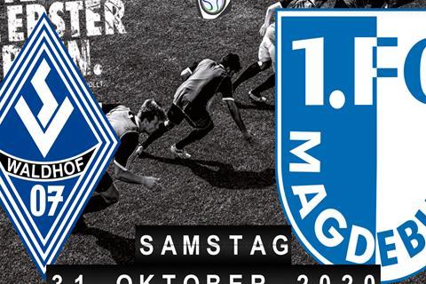 SV Waldhof Mannheim - 1.FC Magdeburg