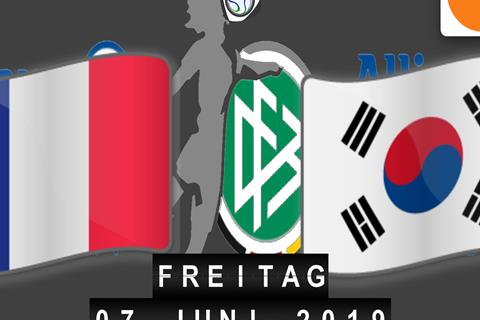 Frankreich - Südkorea