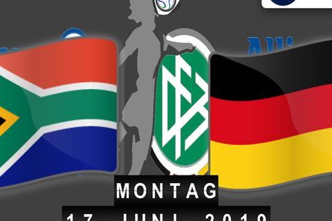 Südafrika - Deutschland