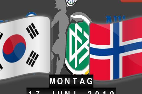 Südkorea - Norwegen