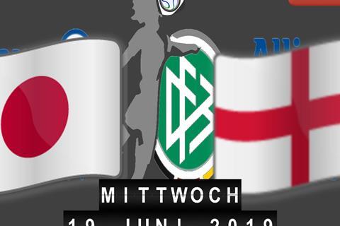 Japan - England