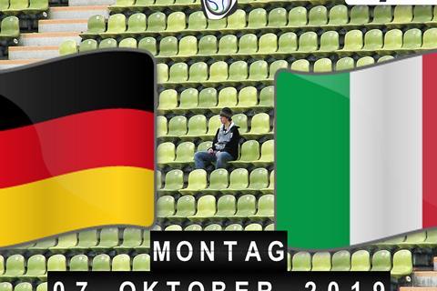 Legendenspiel Deutschland - Italien