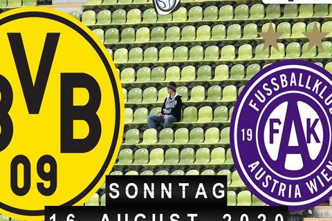 Borussia Dortmund - Austria Wien
