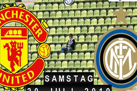 Fussball live: Manchester United - Inter Mailand