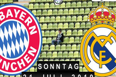 Fussball live: FC Bayern München - Real Madrid