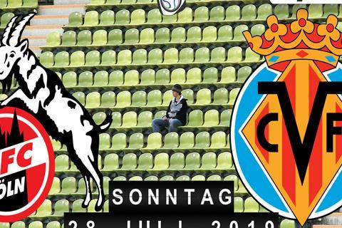 1. FC Köln - FC Villarreal
