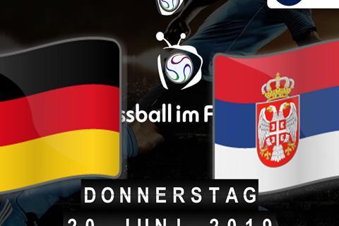 U21-EM: Deutschland - Serbien