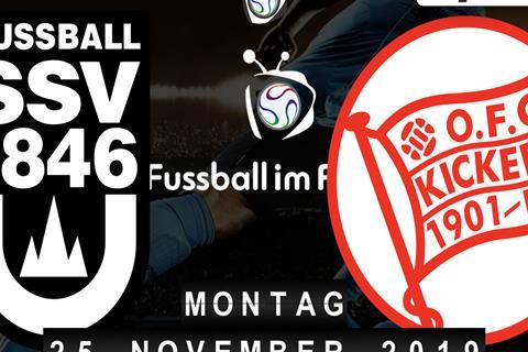 SSV Ulm 1846 - Kickers Offenbach